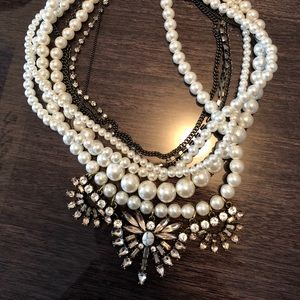 BaubleBar Pearl Statement Necklace